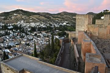 alcazaba fortress included in the alhambra main visit