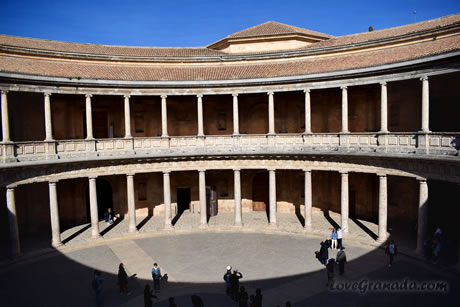 carlos v palace of alhambra