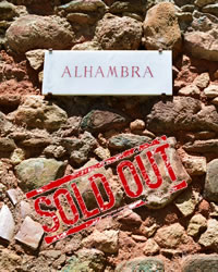 arches in the alhambra palace