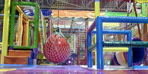 ball ponds, kiddy parks and leisure parks for children