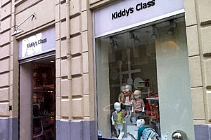 Kiddy's Class store of cloths for children