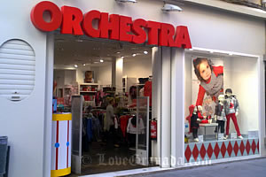 orquestra children shop in Granada