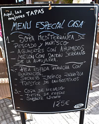list of the best tapas in almunecar