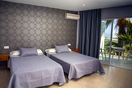 double room in hotel salambina in salobrena