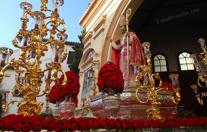 procession of san cecilio in granada