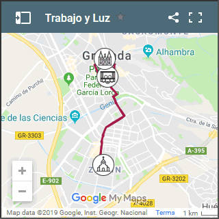 map of luz