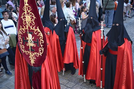 penitentes in the processions of holy tusesday