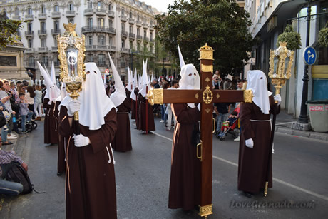 processions of romans on palm sunday of granada