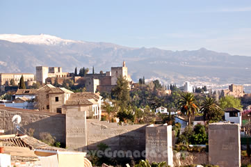 arab wall of granada