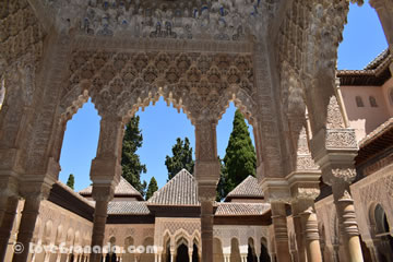 alhambra which is included in granada pernocta card
