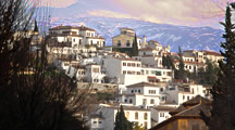 all information about granada in spain, mountains, flora, history and climate