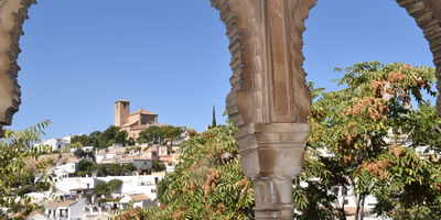 buildings, churches and monuments of granada