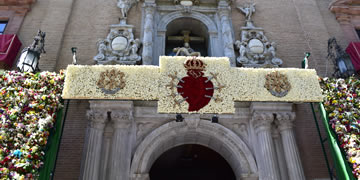 basilica angustias church entrance
