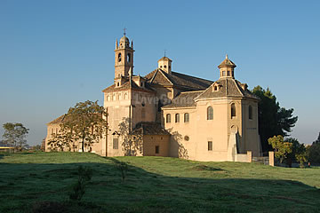 a view of the cartuja monastery