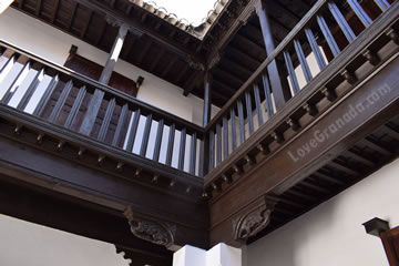 wooden structure of chapiz house