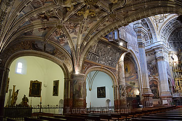 san jeronimo interior church