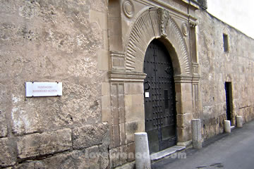 entrance to the acosta museum