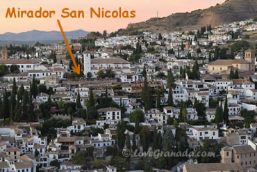 where mirador de san nicolas is located