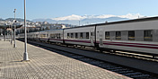 trains from granada to other cities in spain