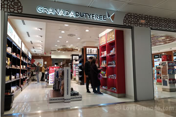 duty free at the airport granada jaen