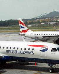 british airways airline at the granada airport