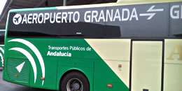 airport buses of granada