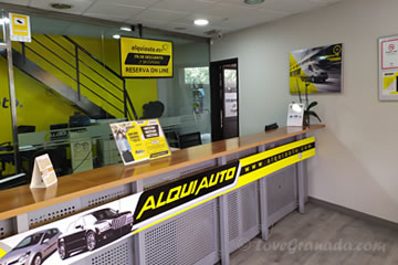 office of rent cars alquiauto in juncaril