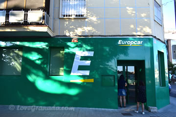 rent car from europcar