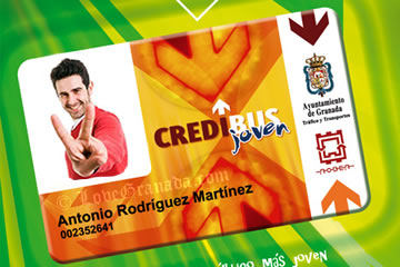 travel card for young people from granada