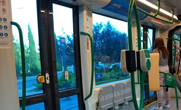 double doors on granada tram
