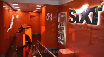 car rental sixt in granada train station