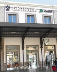 entrance to granada train station